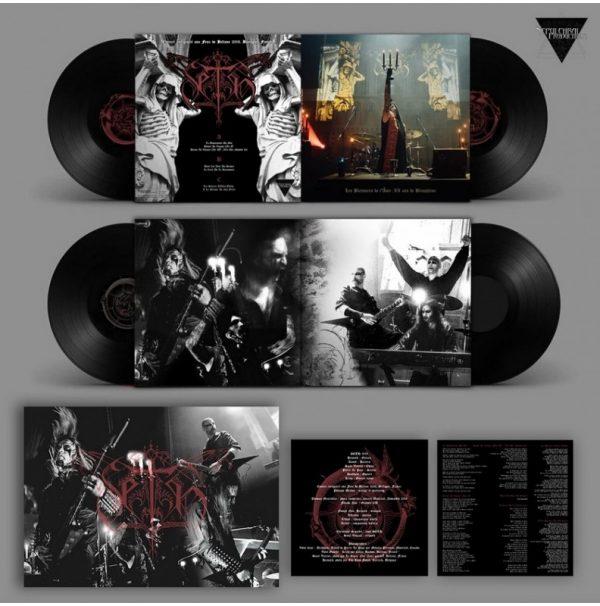 LP noir Les Blessures Live